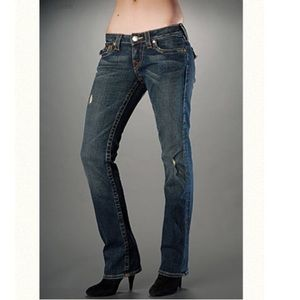 True Religion bootcut Jean w/ flap over pockets